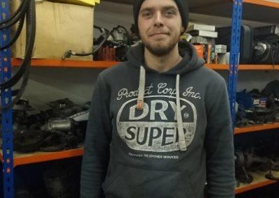 Alfie Edwards – Motor Vehicle Apprentice