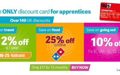 Apprentices entitled to a NUS card for discounts