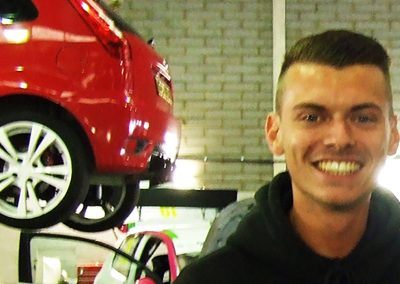 Ray Creasey – Motor Vehicle Apprentice