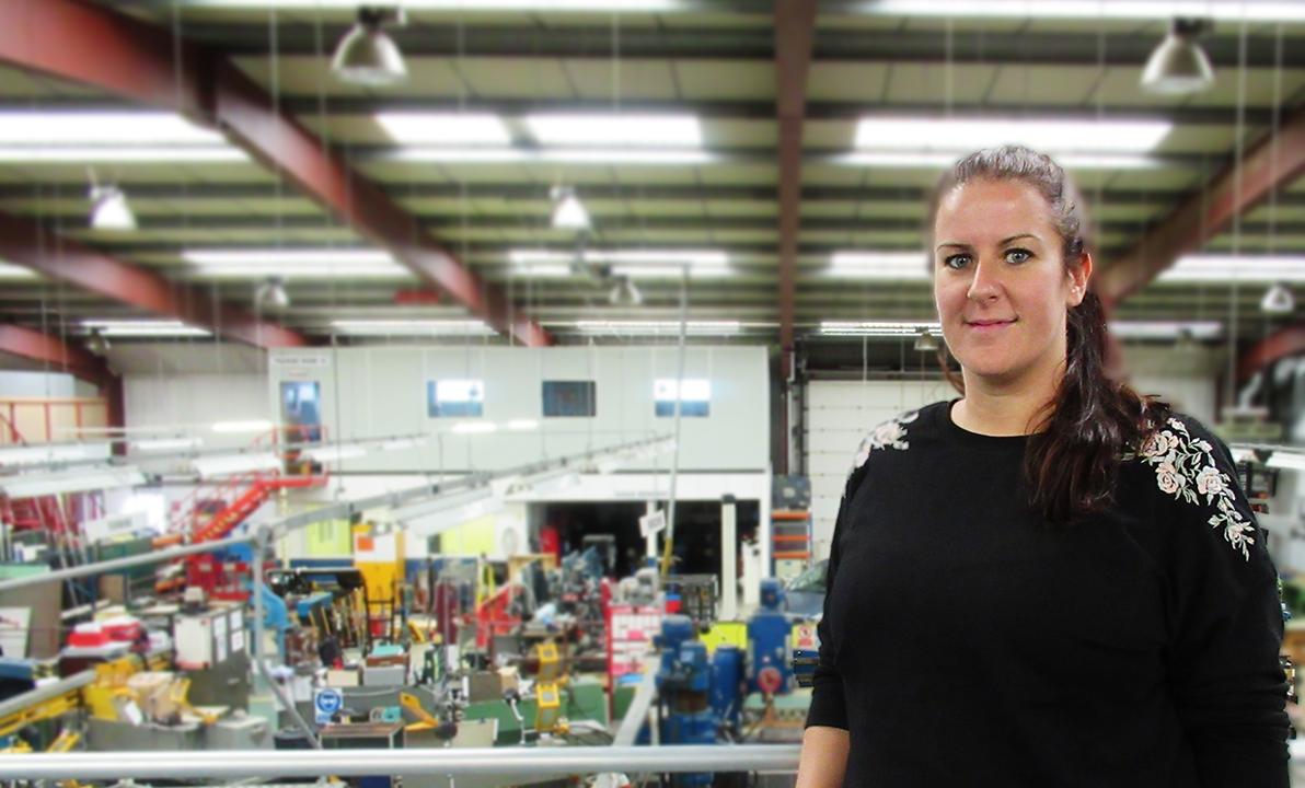 Sarah Kuzbyt Engineering Apprentice Coca Cola