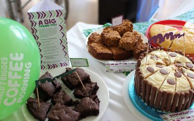 IPS raised money for Macmillan with another Coffee Morning Fundraiser
