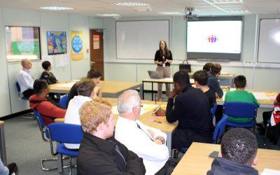 Safeguarding Apprentice Session at IPS for Mental Health Week 2018