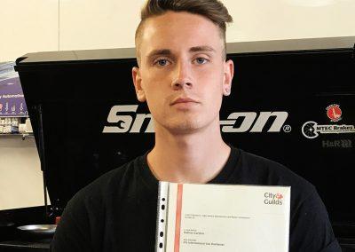 Nathan Gardner – Motor Vehicle Apprentice