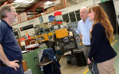 IPS Workshop Tour with Kelly Tolhurst MP 2018