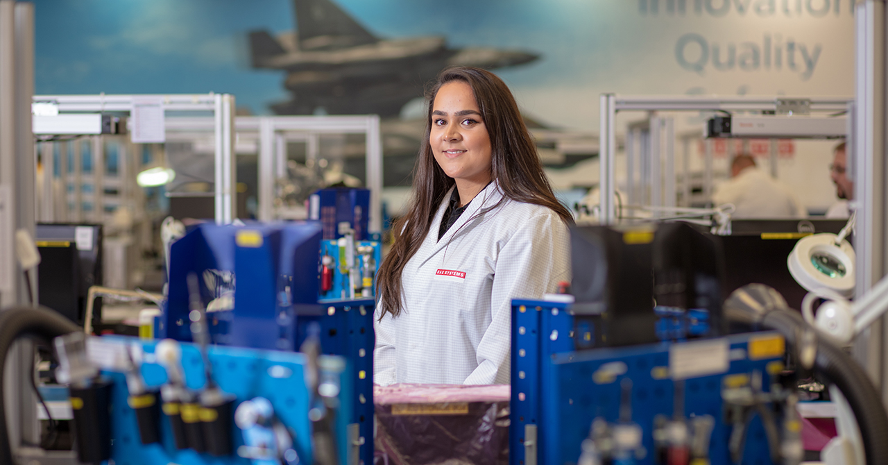 Billie Sequeria BAE SYSTEMS Engineering Apprenticeship