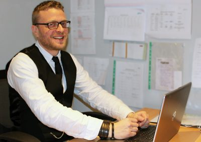 Andy Jupp – Level 5 Health and Social Care Apprentice