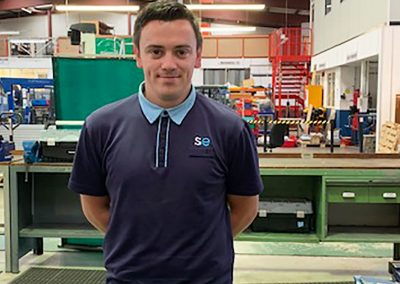 Christopher Ray – Engineering Apprentice