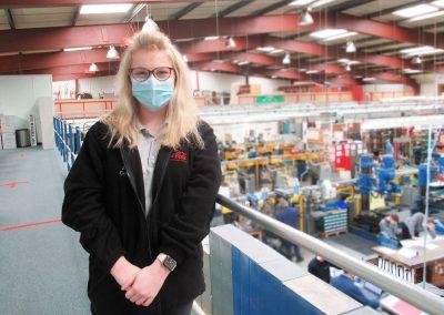 Amelia Cockran Engineering Apprentice