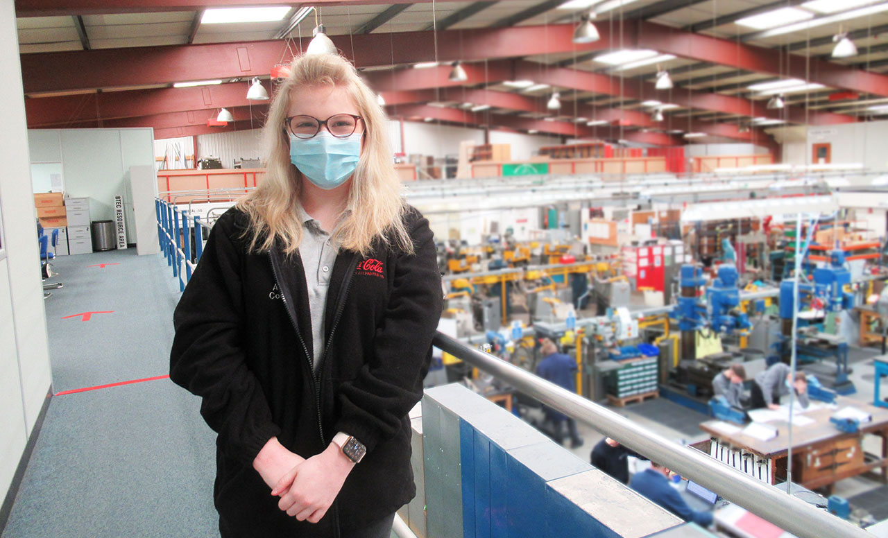 Amelia Cockran Coca Cola European Partners Engineering Apprenticeship