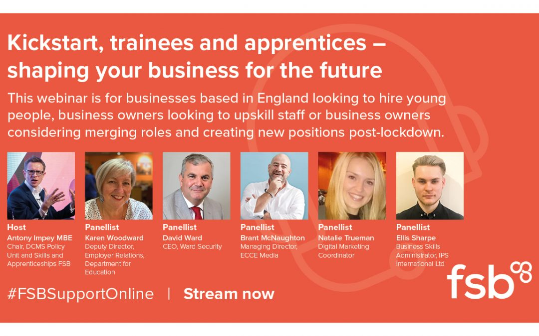 FSB Webinar- Shaping your business for the future