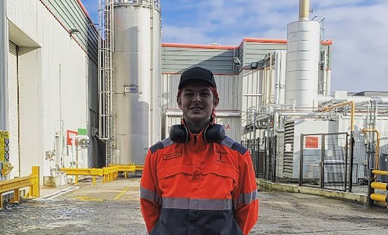 James Burch - Coca Cola European Partners Engineering Apprenticeship